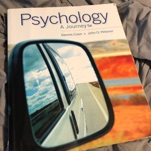 Other - Psychology a journey 5e course textbook